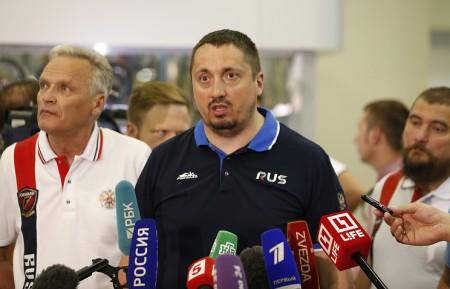 Пресс-конференция Александра Шпрыгина