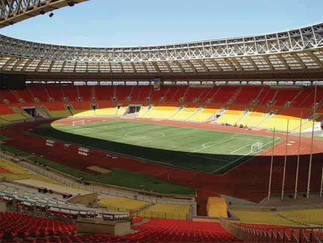 стадиона «Лужники»